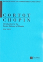 Introduction to the Cortot Editions of Chopin