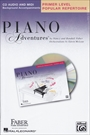 Piano Adventures Popular Repertoire CD Primer Level